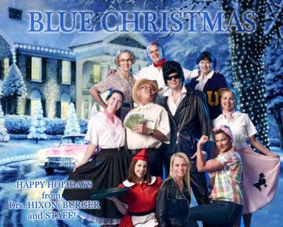 Blue Christmas 2012